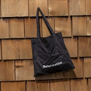 REFORMATION Black Tote Bag From NYC Store